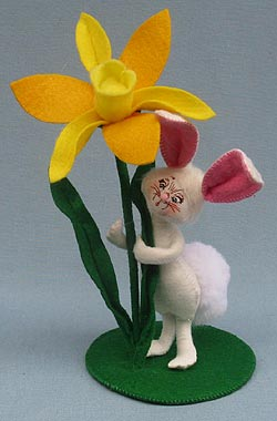 """Annalee 5"""" Daffodil Bunny 2014 - Mint - 200514"""