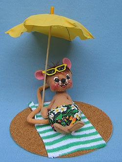 "Annalee 7"" Maui Mouse - Mint - 200590"