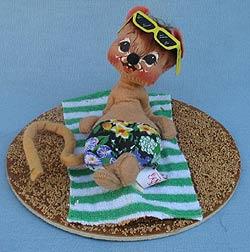 """Annalee 7"""" Maui Mouse - Mint - Museum - 200590m"""