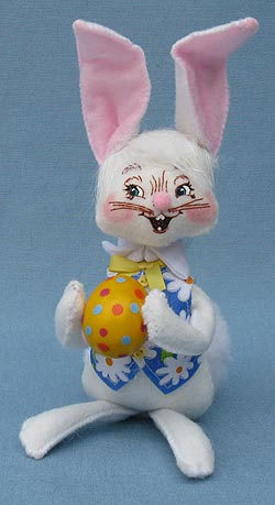 "Annalee 6"" Easter Boy Bunny - Mint - 200810"