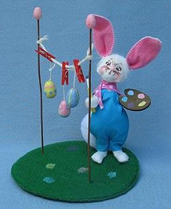 "Annalee 5"" Artist Bunny - Mint - 200811"