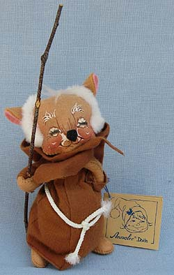 "Annalee 6"" Friar Nativity Mouse - Mint / Near Mint - 201090xx"