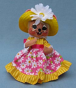 "Annalee 6"" Spring Girl Mouse - Mint - 201110"