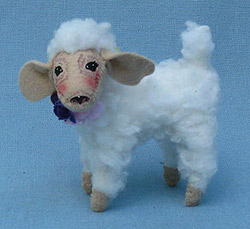"Annalee 5"" Spring Lamb - Mint - 201211"