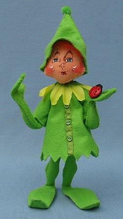 """Annalee 9"""" Green Spring Elf - Mint - 201310"""