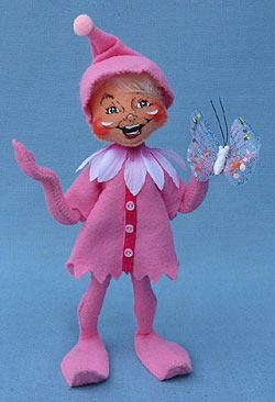 """Annalee 9"""" Pink Spring Elf - Mint - 201410"""