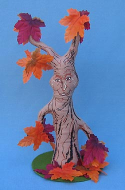 """Annalee 15"""" Tan  Haunted Tree - Neat Mint / Excellent - 201807a"""