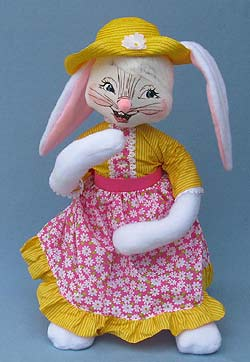 """Annalee 30"""" Easter Girl Bunny - Mint - 201910"""