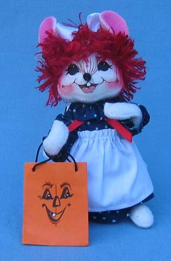 "Annalee 6"" Trick or Treat Raggedy Ann Mouse - Near Mint - 202407"