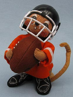 "Annalee 7"" Football Mouse - Mint - 202794oxt"