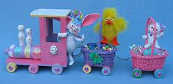 "Annalee 18"" Easter Train Express - Mint / Near Mint - 203208"