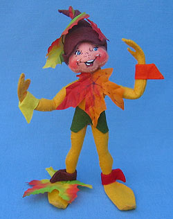 "Annalee 9"" Yellow Fall Elf - Mint - 203507"