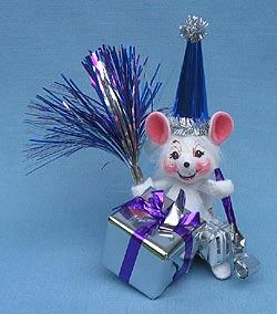 "Annalee 4"" Celebration Mouse - Mint - 203804"