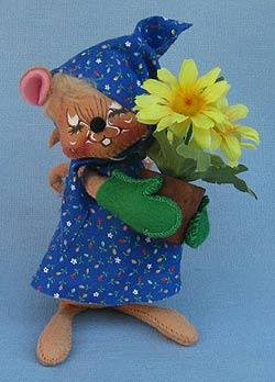 """Annalee 7"""" Green Thumb Mouse - Mint / Near Mint - 204592xxt"""