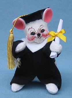 """Annalee 5"""" Graduation Mouse - Mint - 210102ccxt"""