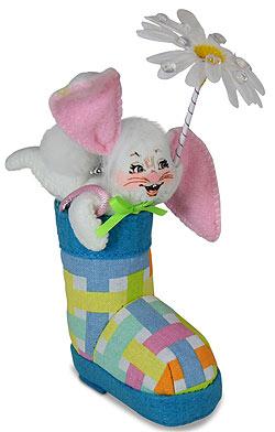 "Annalee 3"" Rain Boot Bunny 2020 - Mint - 210320"