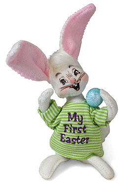 """Annalee 5"""" Bunny's First Easter 2019 - Mint - 210519"""