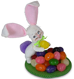"Annalee 3"" Jelly Bean Bunny 2020 - Mint - 210520"