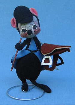 """Annalee 7"""" Equestrian Mouse - Near Mint - 218582"""