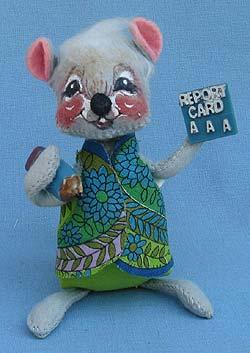 "Annalee 7"" Teacher Mouse - Excellent - Prototype - 222577"
