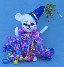"""Annalee 6"""" Let's Celebrate Mouse - Mint - 232106"""