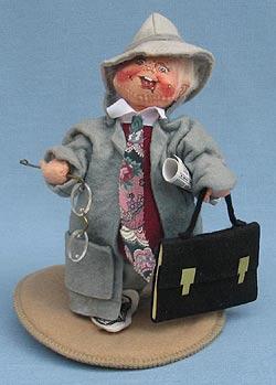 "Annalee 7"" Business Man Kid - Good - 235193a"
