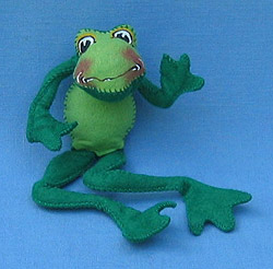 "Annalee 10"" Frog - Near Mint - 240688"