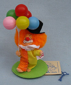 "Annalee 3"" Scotty the Big Top Clown - Mint - 250697ox"