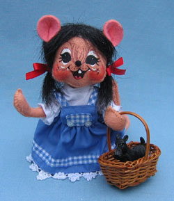 "Annalee Wizard of Oz 6"" Dorothy Mouse - Mint - 251508"