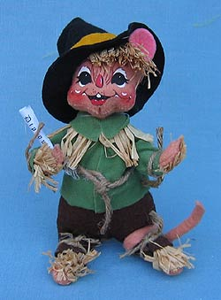 "Annalee Wizard of Oz 6"" Scarecrow Mouse - Mint - 251708"