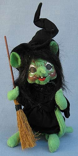 "Annalee 6"" Wizard of Oz Wicked Witch Mouse - Mint - 252009"