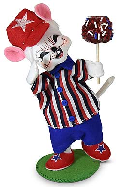 "Annalee 6"" Candy Apple Boy Mouse 2020 - Mint - 260620"