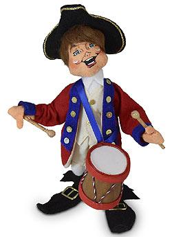"Annalee 9"" Colonial Drummer Elf 2020 - Mint - 260720"