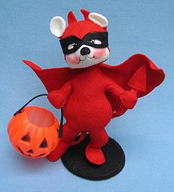 """Annalee 8"""" Lil Devil Bear - Mint - 297800"""