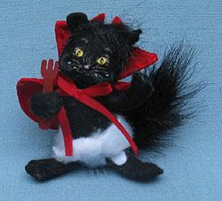 "Annalee 3"" Devil in Training Kitty Cat - Mint - 300210"