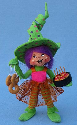 """Annalee 5"""" Green Party Elf - Mint - 300411"""