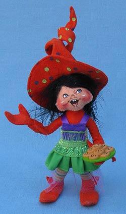 """Annalee 5"""" Orange Party Elf - Mint - 300511"""