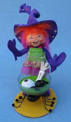 "Annalee 5"" Purple Party Elf - Mint - 300611"