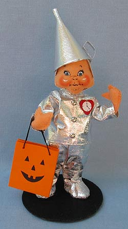 "Annalee 6"" Wizard of Oz Trick or Treat Tin Man 2017 - Mint - 300617"