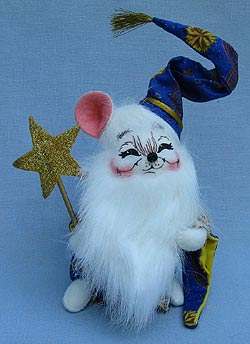 """Annalee 6"""" Wizard Mouse - Mint - 300703sqx"""