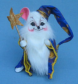 """Annalee 6"""" Wizard Mouse - Mint - 300704"""