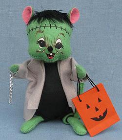 """Annalee 7"""" Frankenstein Mouse 2014 - Mint - 300714"""