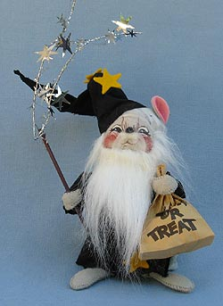 """Annalee 7"""" Wizard Mouse - Mint -300793sq"""