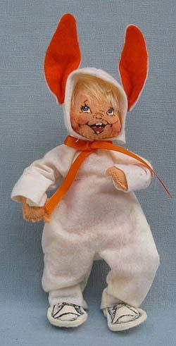 "Annalee 7"" Bunny Trick or Treat Kid - Very Good - 303289b"