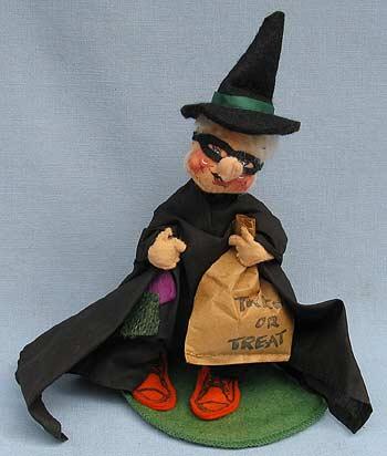 "Annalee 7"" Witch Kid - Excellent - 303688a"