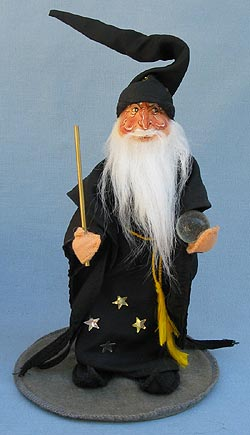 """Annalee 10"""" Merlin the Magician - Very Good - 304289c"""