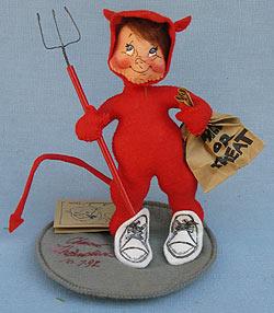 """Annalee 7"""" Devil Kid -Near Mint - 304392sox"""