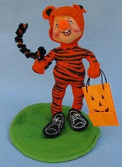 "Annalee 7"" Tiger Kid - Excellent - 306898a"