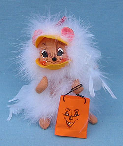 "Annalee 6"" Chicken Trick or Treat Mouse - Mint - 306906"