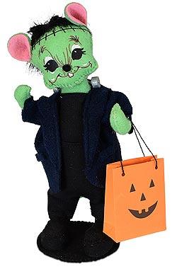 """Annalee 6"""" Frankenstein Mouse 2019 - Mint - 310819"""